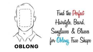 oblong face shape guide