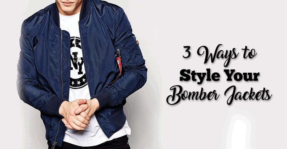3 Ways to Style Your Bomber Jackets
