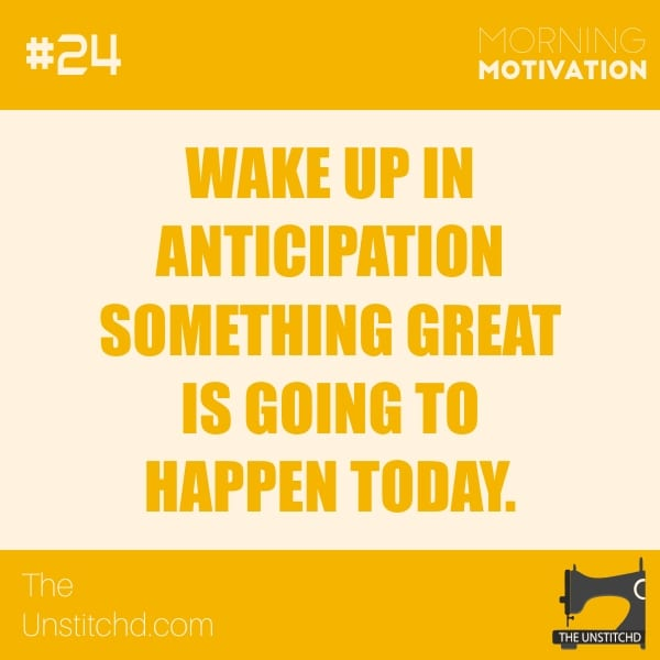 Morning Motivation #24
