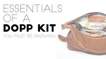 essesntials of dopp kit
