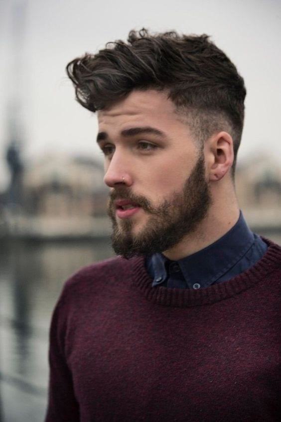 beard styles for oblong face