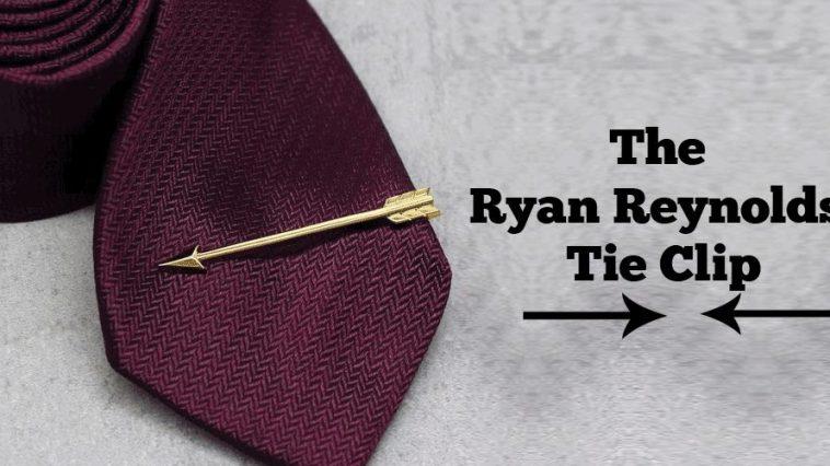 The Ryan Reynolds Tie Clip