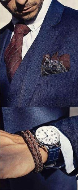 accessories the blue suit