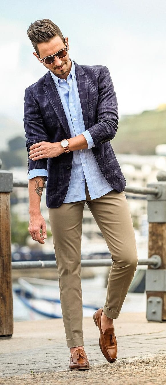How to Style Your Suit Jacket The Right Way