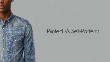 Printed Vs Self-Patterns Shirt