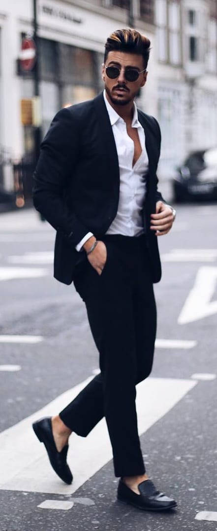 5 Must Have Suits For Men - Black suit