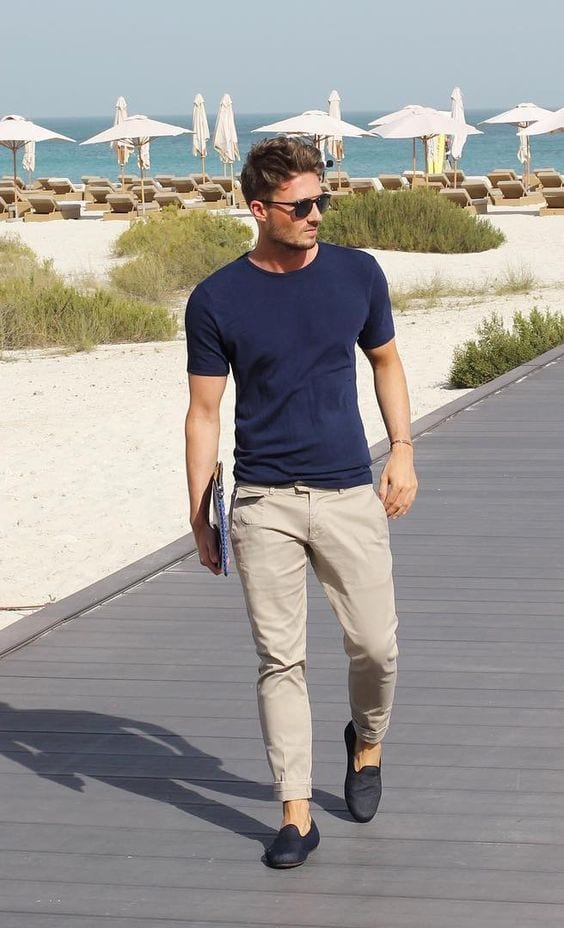 trouser outfit beach wear men