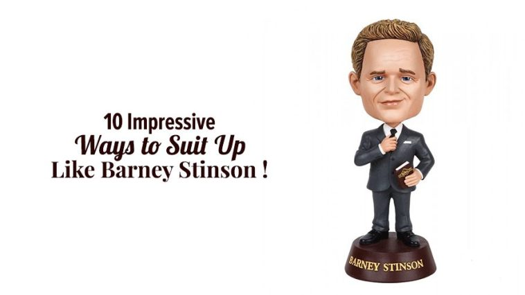 10 Impressive Ways To Suit Up Like Barney Stinson!