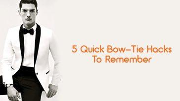 Bow ties styles