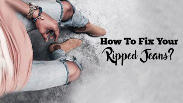 How to fix your ripped jeans