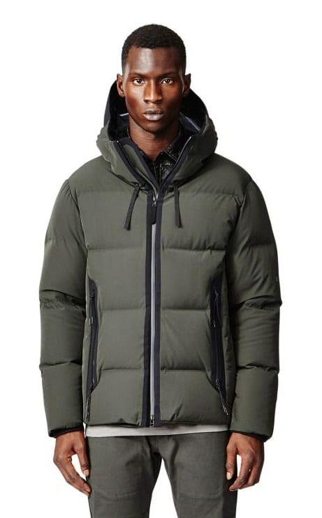 green gilet jacket for men