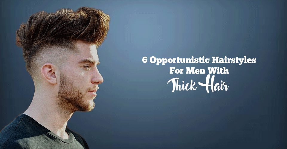 popular hairstyles for thick hair