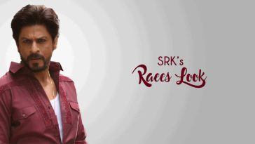 best looks of srk from raees