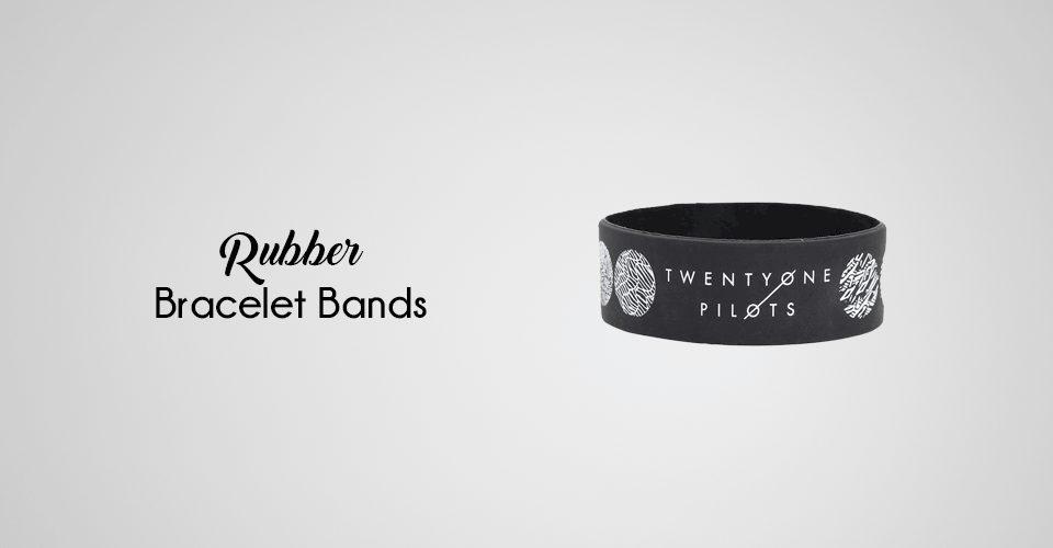 popular rubber bracelet bands