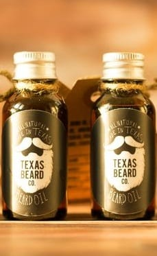 beard growth oil collection