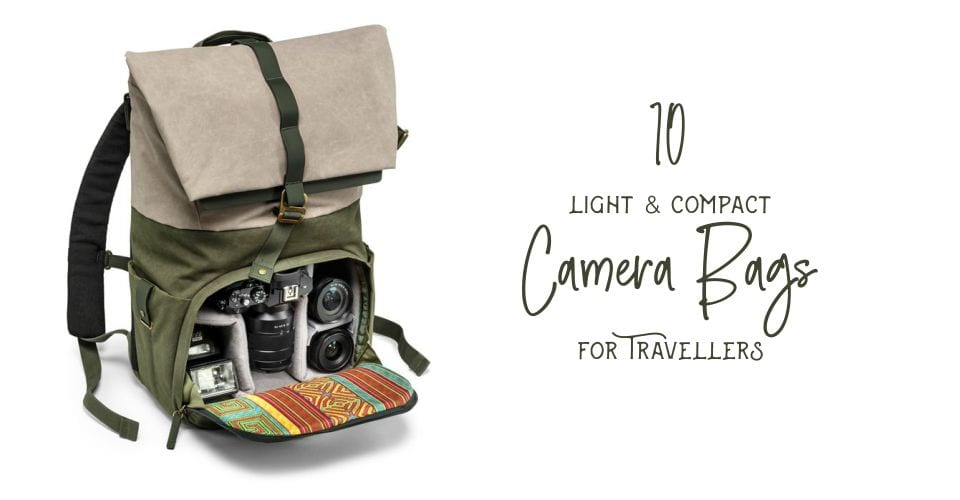 10 Camera Bags for travel bloggers