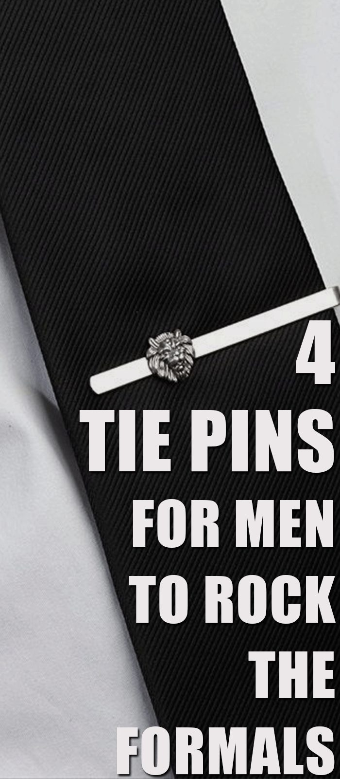 4 Tie Pins For Men To Rock