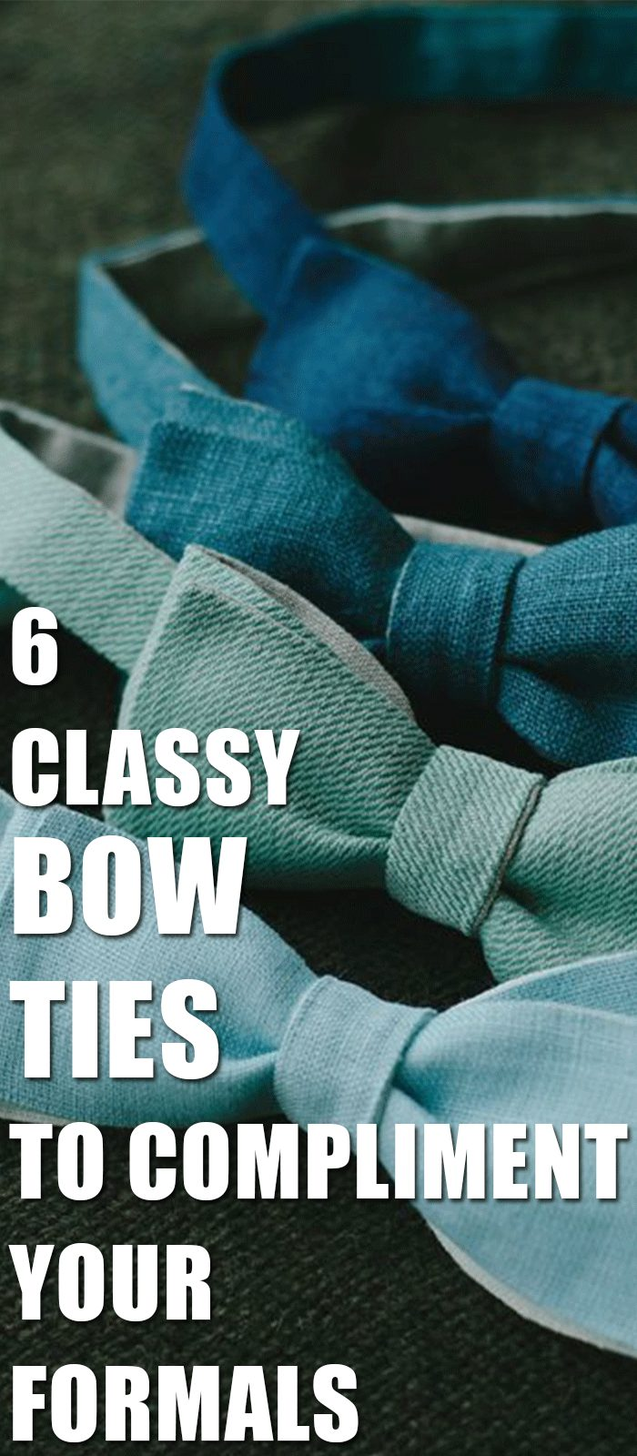 Bow Ties To Compliment Your Formals