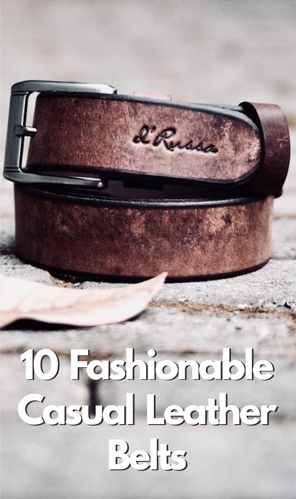 Casual Leather Belts for men