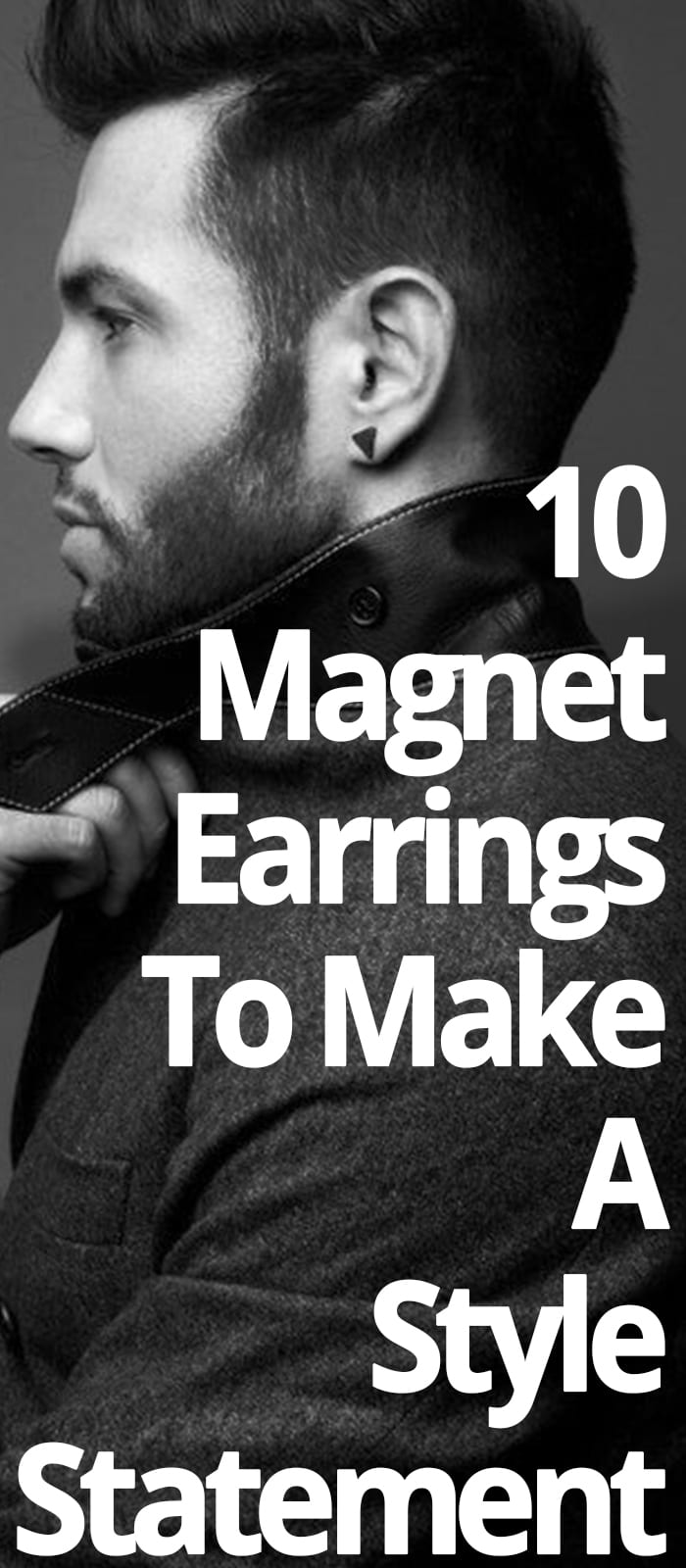 MAGNET EARRINGS FOR MEN