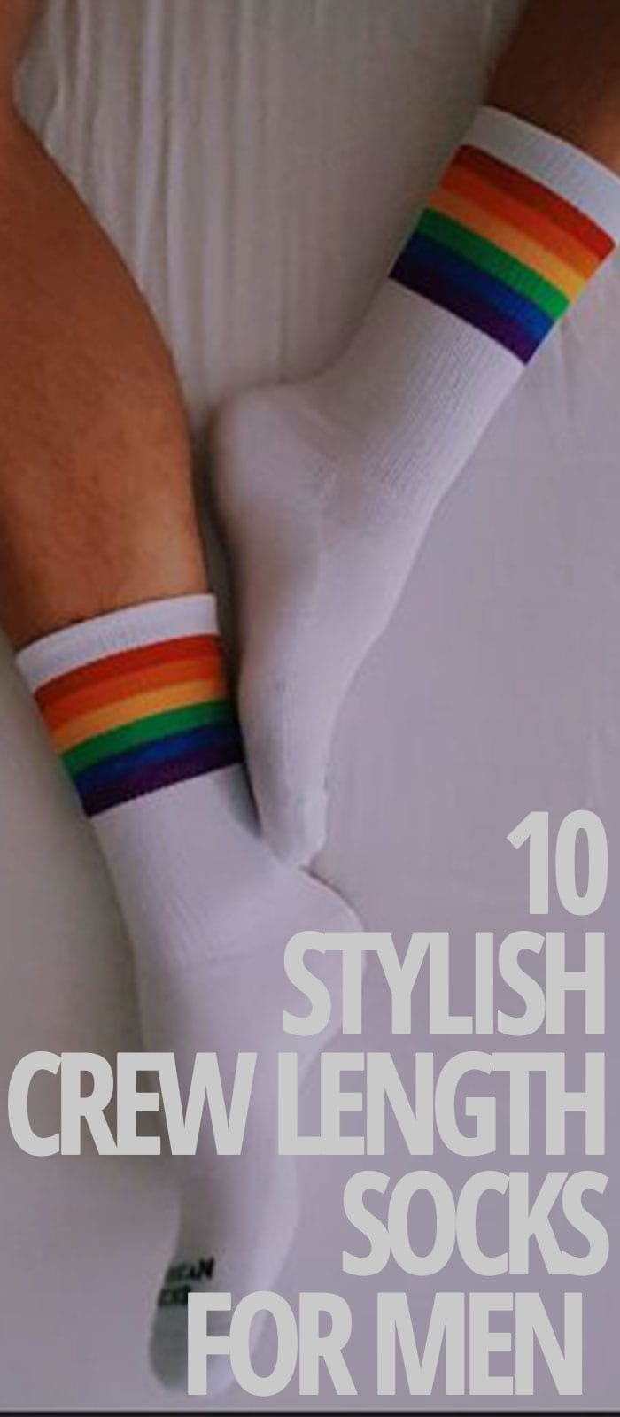 STYLISH CREW LENGTH-SOCKS FOR MEN