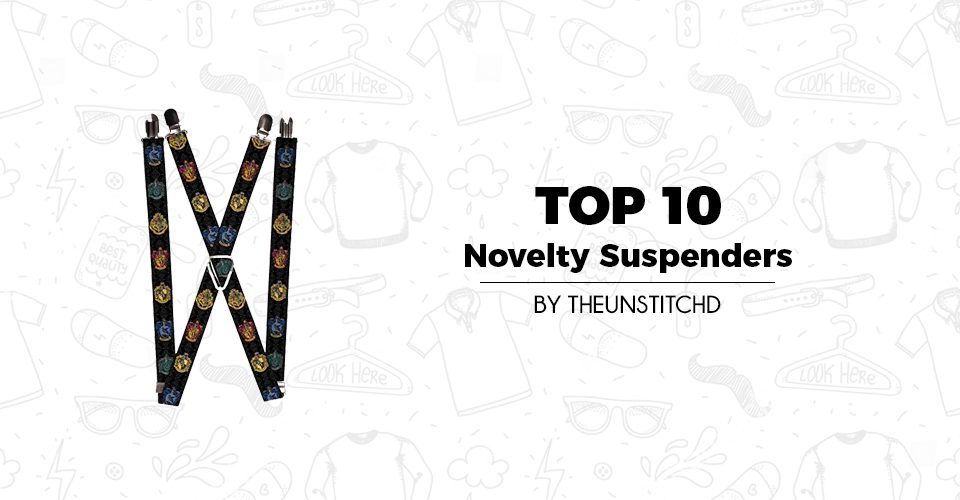 Top 10 Best Novelty Suspenders for Men