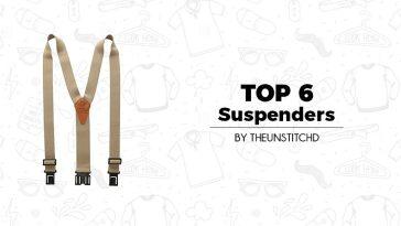 Top 6 Best Suspenders for Men