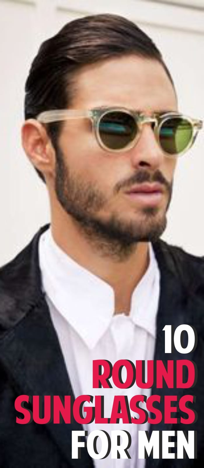 best round sunglasses for men