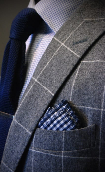 checkered pocket squares for men