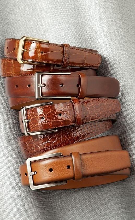 dress belts for men