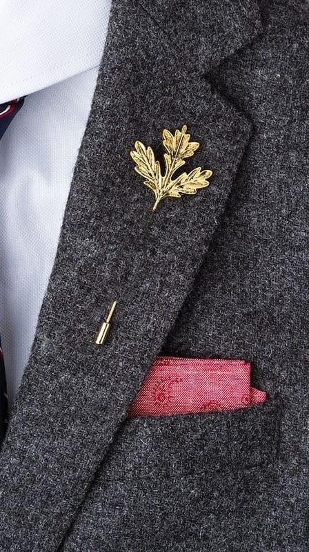 golden lapel pins for men