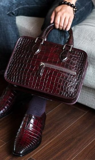 leather tote bags for men
