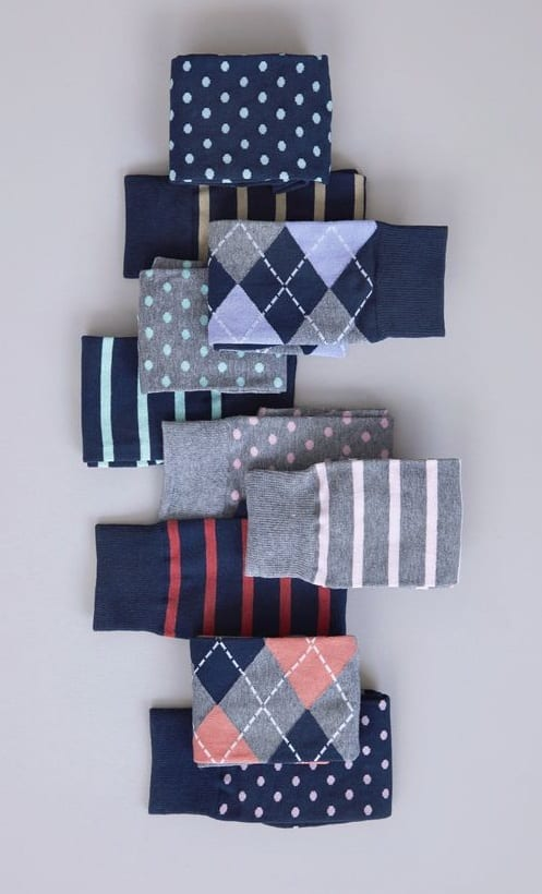 classy socks for men
