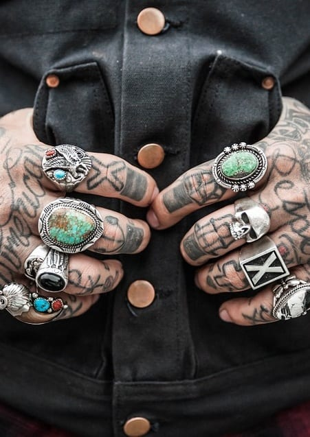 rings collection for men