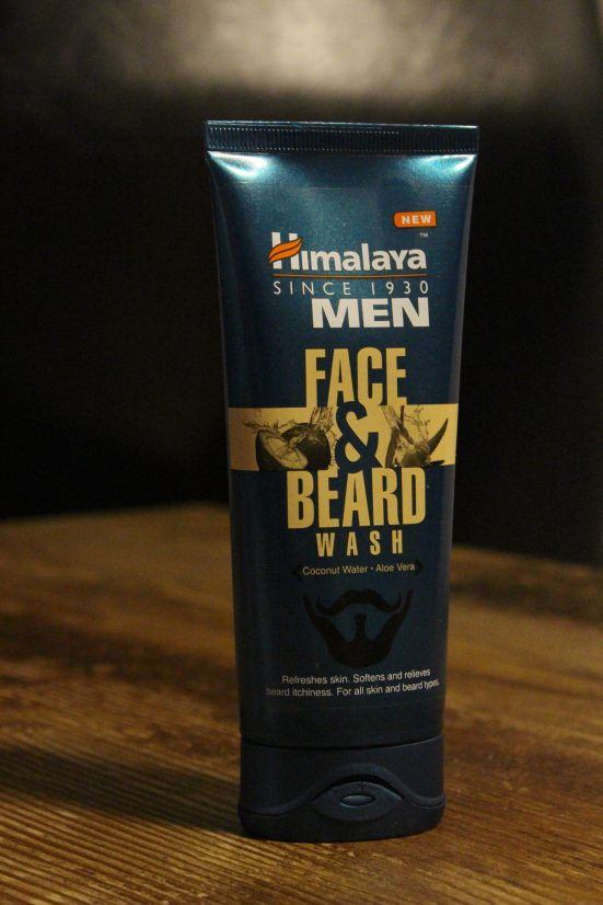 beard face wash by himalaya