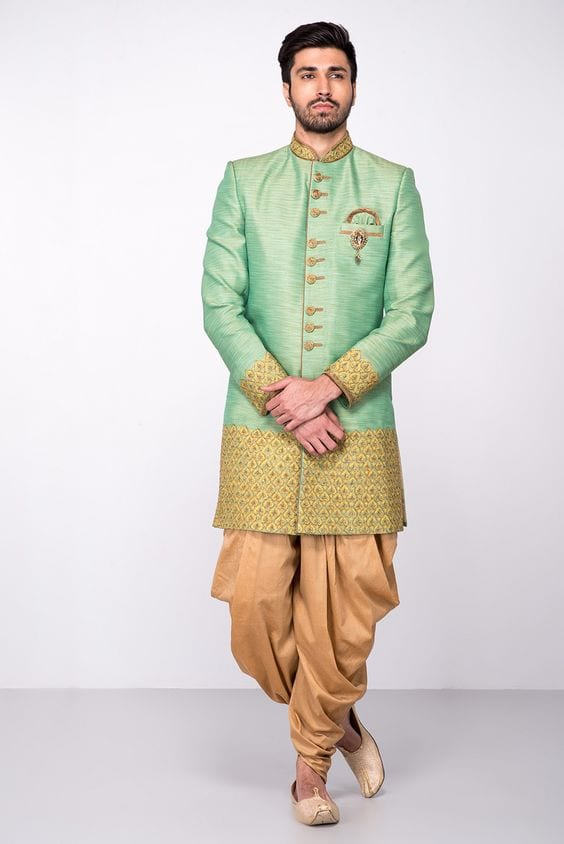 dhoti kurta for mehndi
