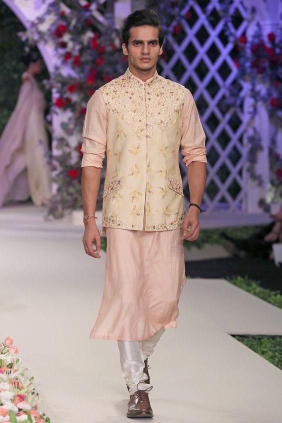 nehru jackets floral prints