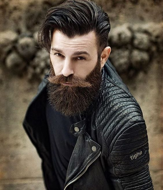 high volume side part men