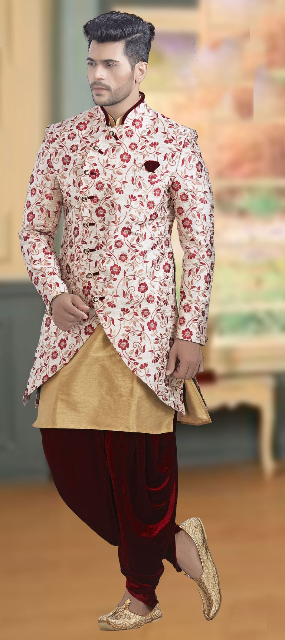 Designer Indo Western Outfit Ideas For Men To Style