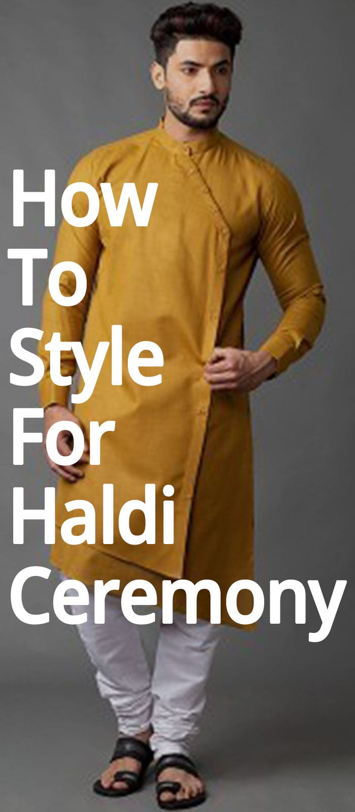 How To Style For Haldi Ceremony