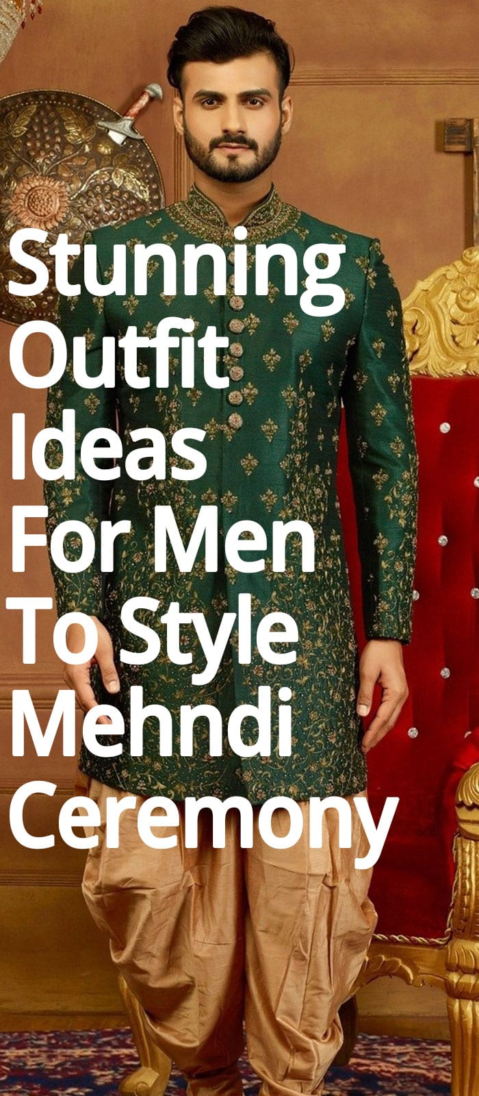 Stunning Outfit Ideas For Men To Style Mehndi Ceremony