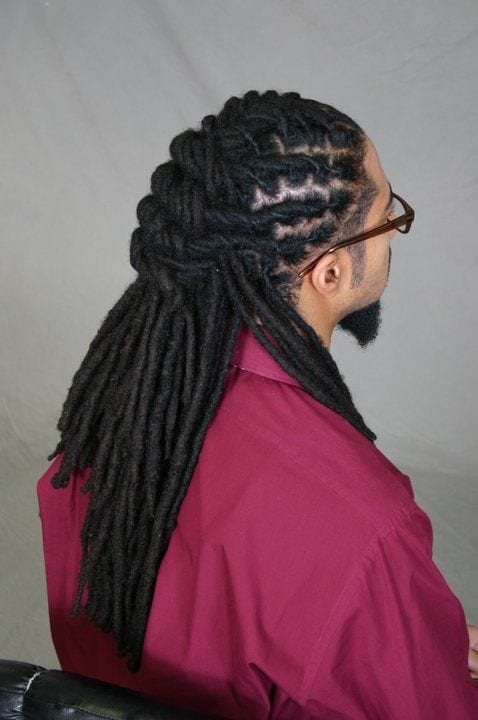ponytail dreadlock styles
