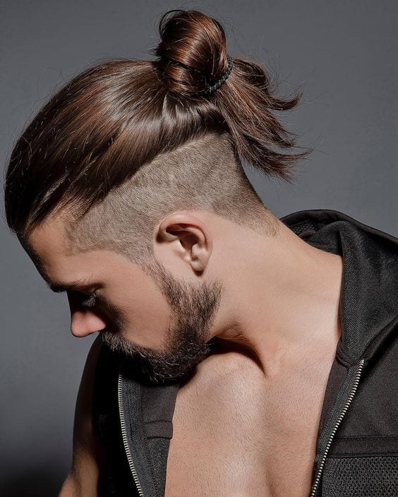 undercut ponytail