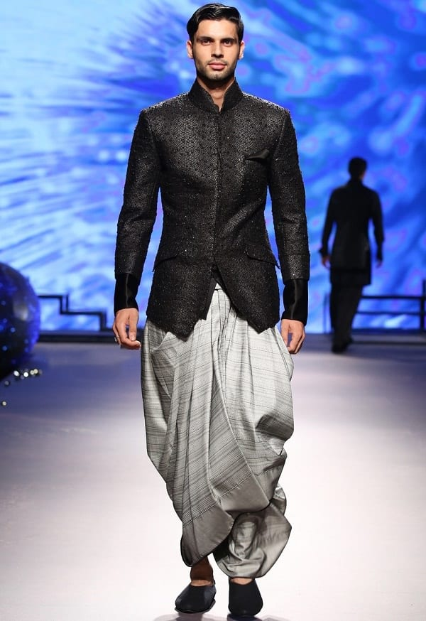 dhoti with jodhpuri jacket