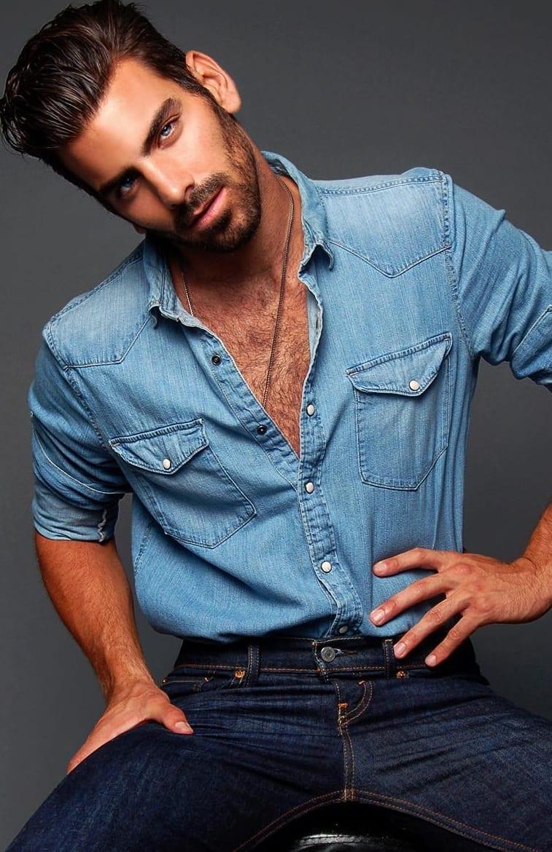 double denim-men's fashion trends