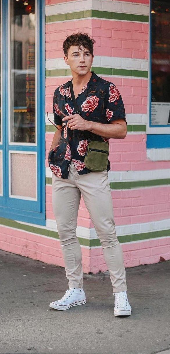 short sleeve shirts-men's fashion trends