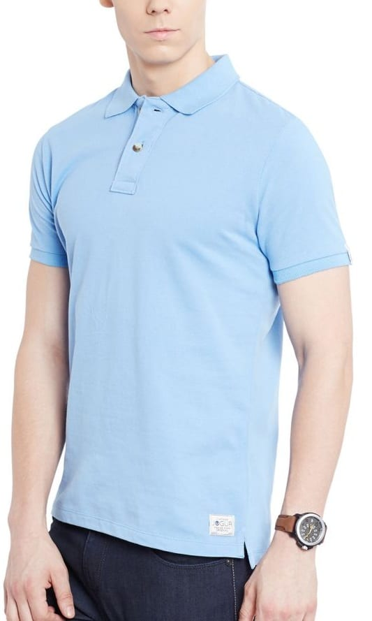 sky blue t shirt light skin tone men avoid