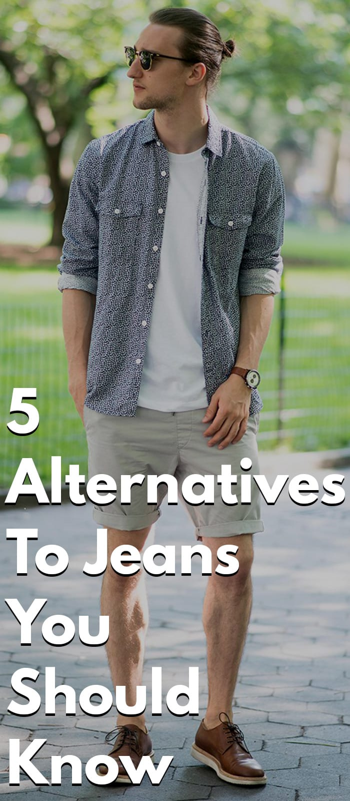 5 Alternatives To Jeans - Chino, Trouser, Joggers