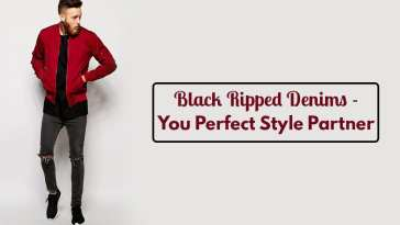 Black Ripped Denims - You Perfect Style Partner