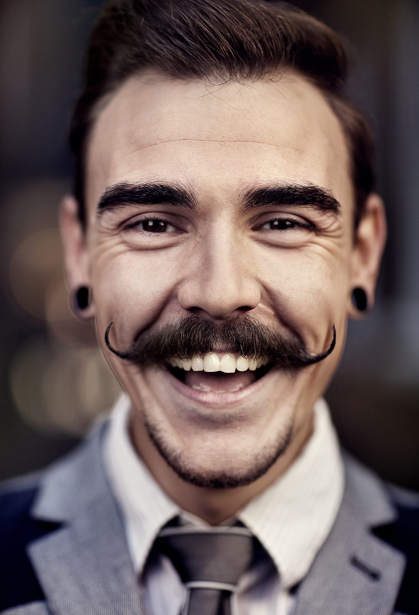 Moustache-Facial Hair Styles for men